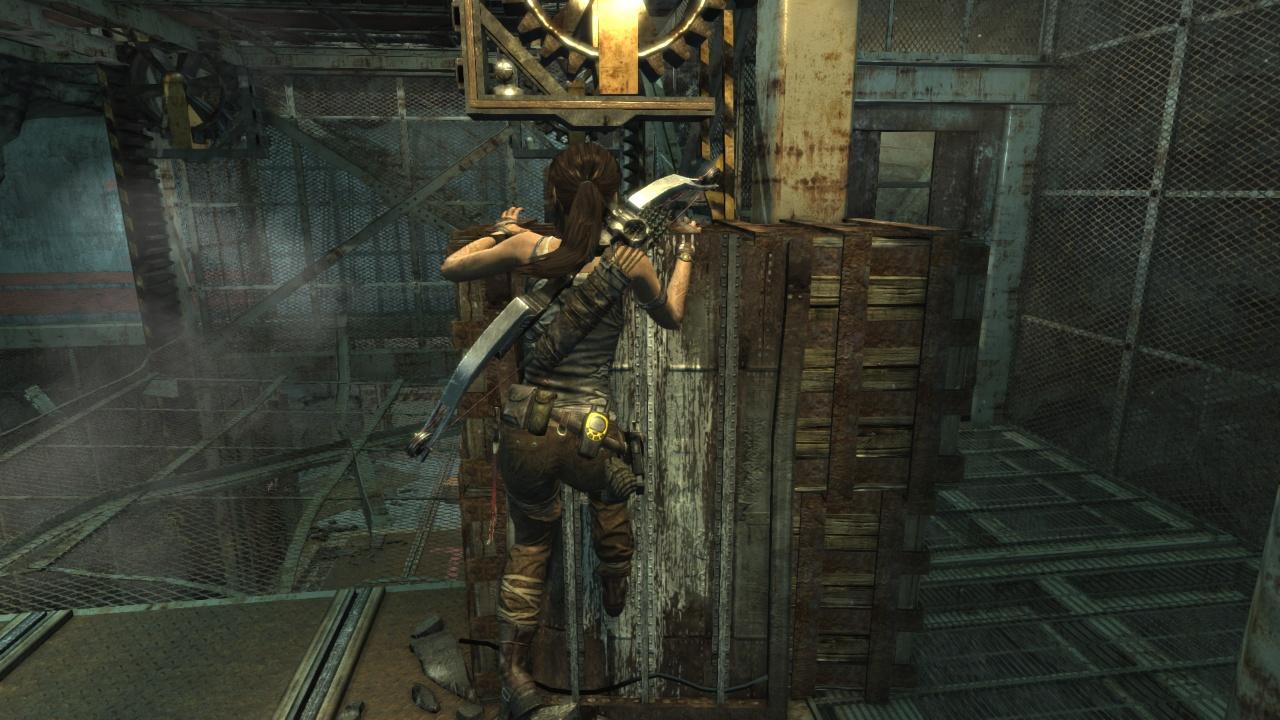 image Lara croft in trouble
