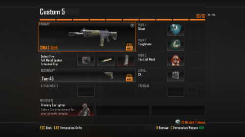 SWAT-556 Assault Rifle Best Class Setup in Call of Duty Black Ops 2