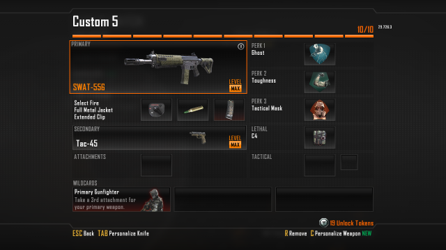 SWAT-556 Assault Rifle Best Class Setup in Call of Duty Black Ops 2