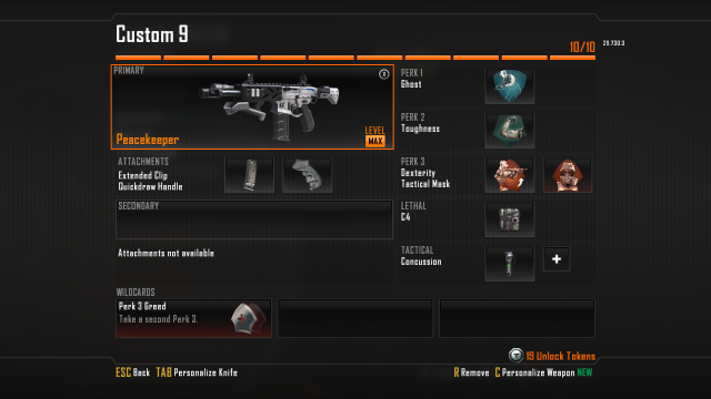 Peacekeeper Sub Machine gun Best Class Setup, Call of Duty Black Ops 2 Weapon Guide