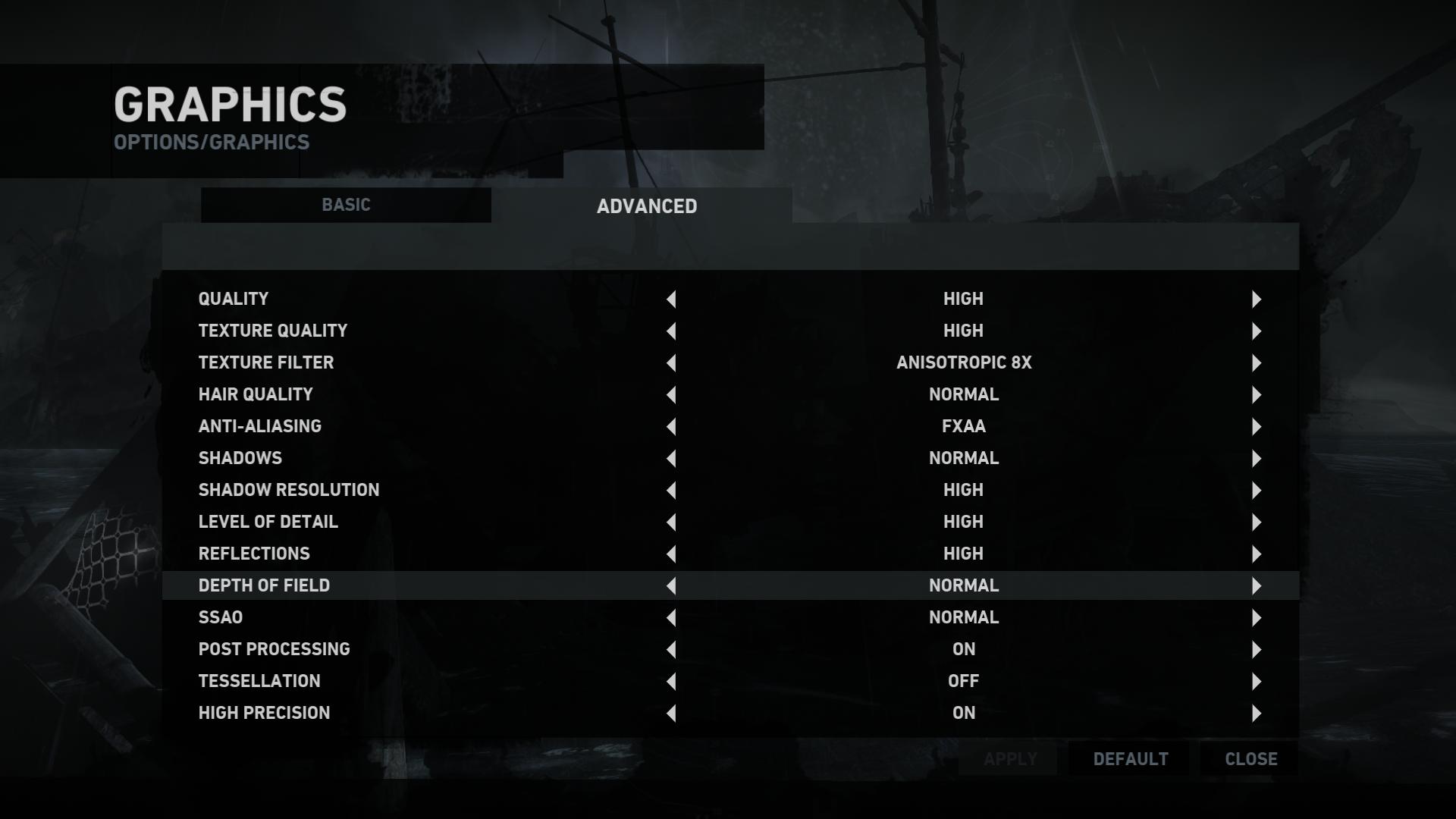 Raider chief game score