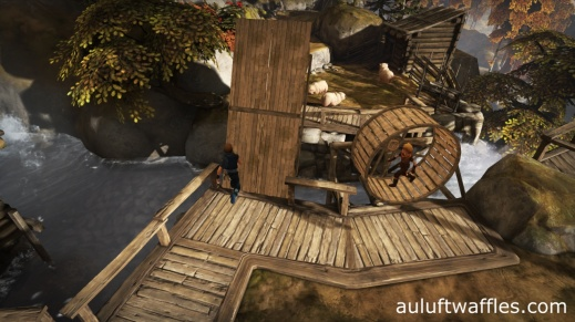 Lowering the Bridge with Sheep in Brothers: A Tale of Two Sons