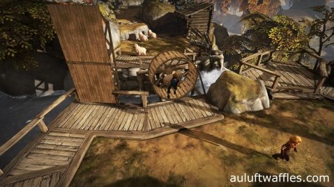 Drop the Sheep into the Wheel in Brothers: A Tale of Two Sons