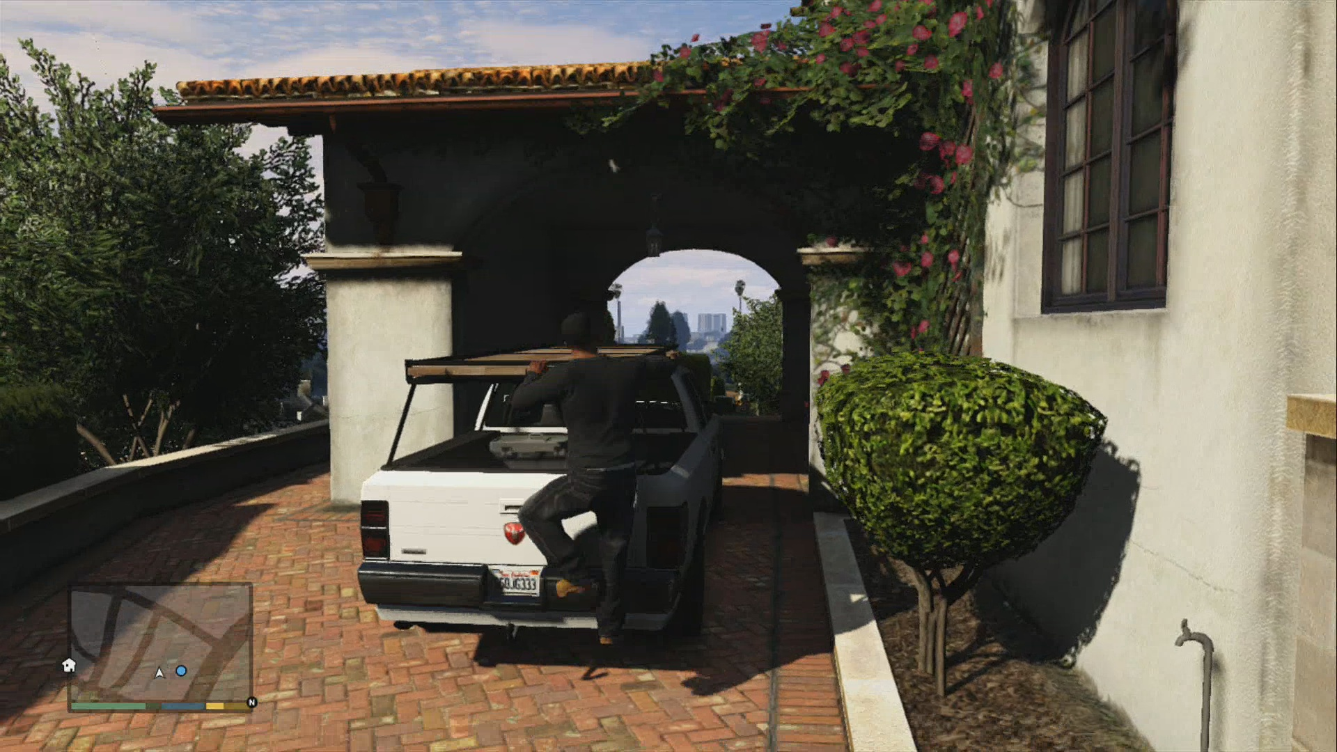 GTA V Guide : Repossession : Stealing Michael's Car Unnoticed XBOX