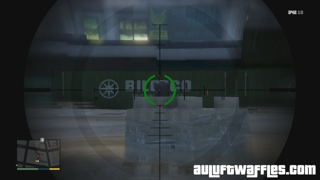 Guard at the construction site in The Construction Assassination in GTA V