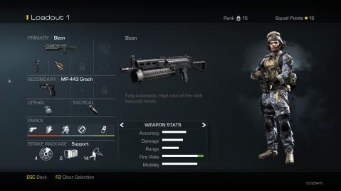 Bizon Best Class Setup Call of Duty Ghosts
