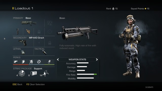 Bizon Best Class Setup Call of Duty Ghosts