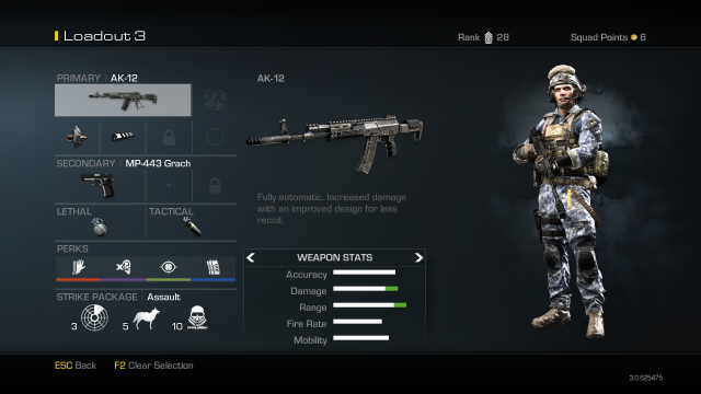 AK-12 Best Solderi Setup Call of Duty Ghosts Weapon Guide