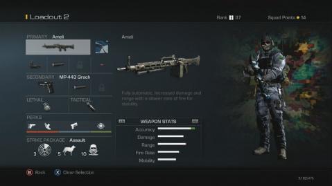 Ameli Light Machine Gun Best Soldier Setup Call of Duty Ghosts Weapon Guide