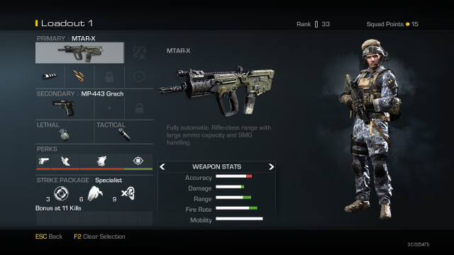 MTAR-X Best Soldier Setup Call of Duty Ghosts Weapon Guide