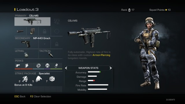CBJ MS Best Soldier Setup Call of Duty Ghosts Weapon Guide