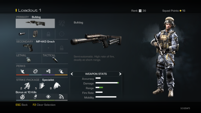 Bulldog Best Soldier Setup Call of Duty Ghosts Weapon Guide