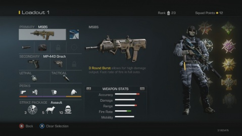 MSBS Best Soldier Setup Call of Duty Ghosts Weapon Guide