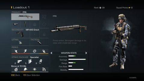 FP6 Best Soldier Setup Call of Duty Ghosts Weapon Guide