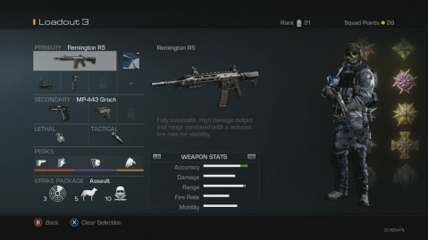 Remington R5 Best Soldier Setup Call of Duty Ghosts Weapon Guide