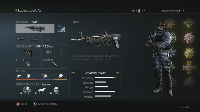 FAD Best Soldier Setup Call of Duty Ghosts Weapon Guide