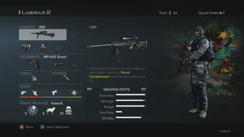 USR Best Soldier Setup Call of Duty Ghosts Weapon Guide