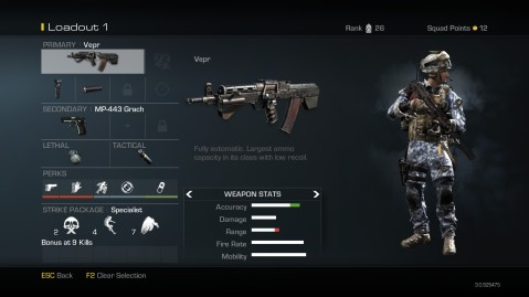Vepr Best Soldier Setup Call of Duty Ghosts Weapon Guide