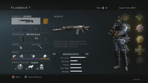 SC-201 Best Soldier Setup Call of Duty Ghosts Weapon Guide