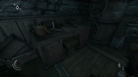 Lyegrove's Letter is on this Table and contains the Combination for the Jeweller's Safe in Chapter 1 Lockdown in Thief