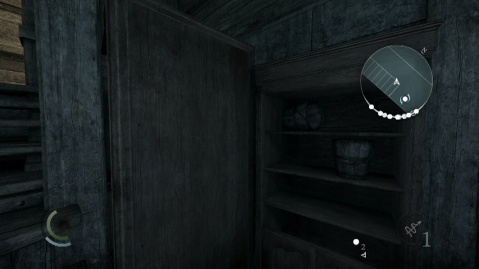Jump onto these Cupboards to Steal Lady Christina's Testament in A Lady's Bequest in the Stonemarket in Thief 2014.
