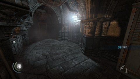 Door to the Passage to Sabotage the Opium Pump in the House of Blossoms Lower Level in Chapter 3 Dirty Secrets in Thief 2014