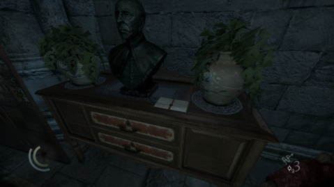 Coyle's Combination Location for Opening Madam Xiao-Xiao's Strongbox (Safe) in The House of Blossoms in Chapter 3 Dirty Secrets in Thief 2014