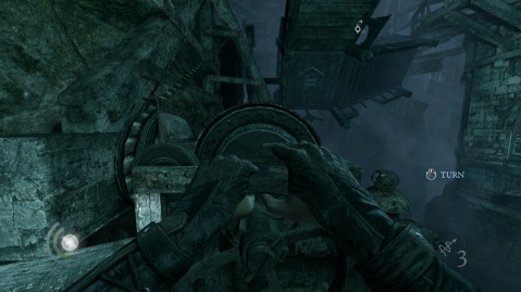 Bridge II in the Underground Ruins Library Tower in Chapter 3 Dirty Secrets in Thief 2014