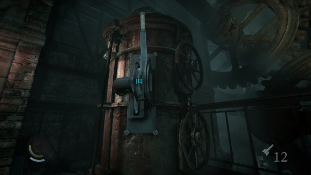 Pull the Lever to Activate the Machine that Breaks the Glass so you can Acquire the Primal Stone Fragment in the Baron's Laboratory in the Northcrest Manor in Chapter 6 A Man Apart in Thief 2014