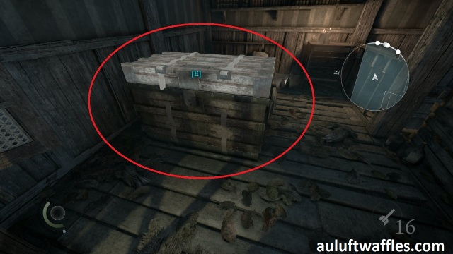 The Poet Fragment Two is on the Chest on the Upper Level in The Disappearing Poet in Thief 2014