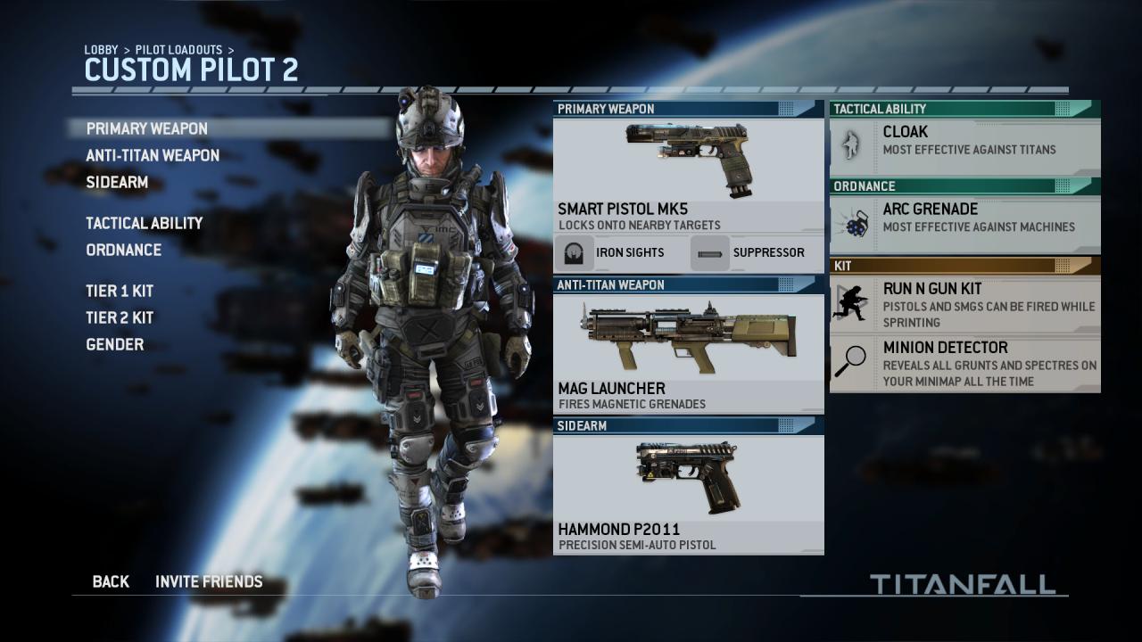 how to get smart pistol in titanfall 2