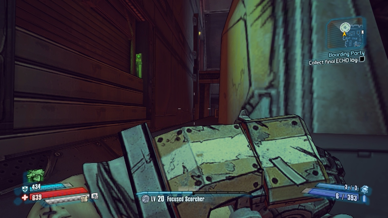 Find the ECHO Logs Location in Boarding Party in Borderlands: The Pre-Sequel  | auluftwaffles.com, short video game guides