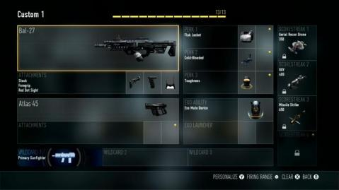 BAL-27 Best Class Setup Call of Duty Advanced Warfare