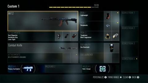 AK12 Best Class Setup Call of Duty Advanced Warfare