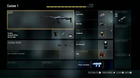 ASM1 Best Class Setup Call of Duty Advanced Warfare