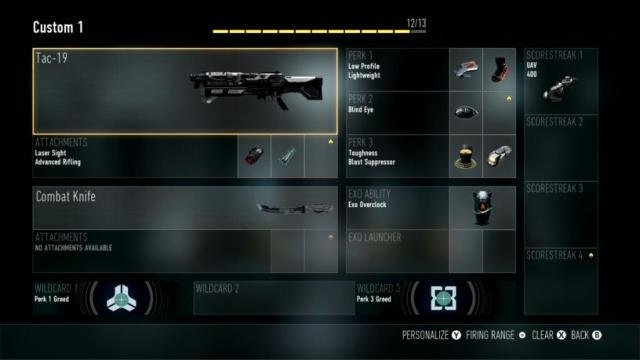 Tac-19 Best Class Setup Call of Duty Advanced Warfare