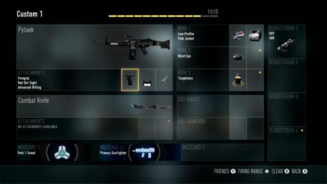 Pytaek Best Class Setup Call of Duty Advanced Warfare