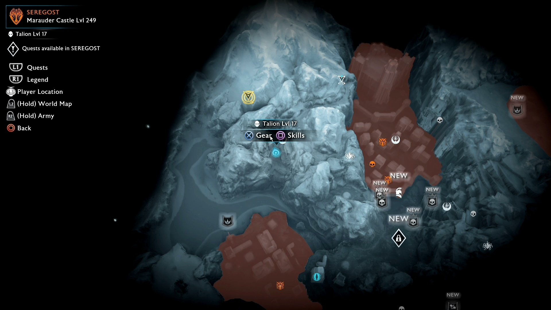 Get To Seregost Barrows Middle Earth Shadow Of War