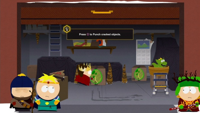 Get Through Garage South Park: The Fractured But Whole