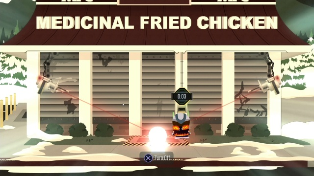Get Past Medical Fried Chicken Security System South Park: The Fractured But Whole