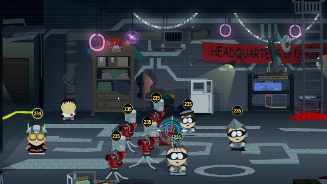 Escape U-Stor-It The hundred Hands of Chaos South Park: The fractured But Whole