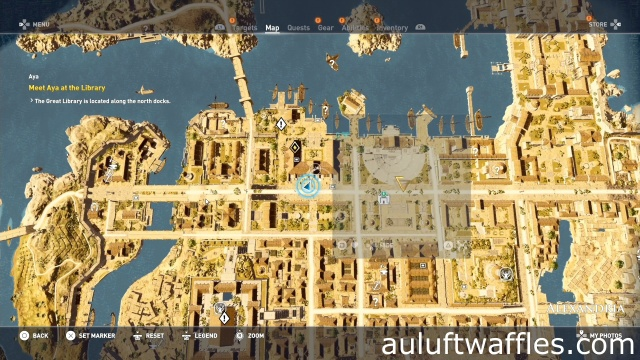Find the Papyrus Puzzle The Great Library Assassin's Creed: Origins
