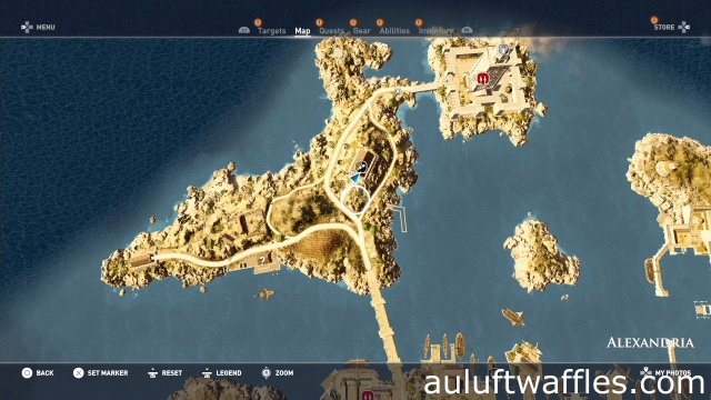 Find the Papyrus Puzzle Iseion Assassin's Creed: Origins