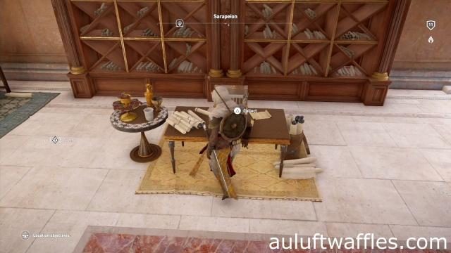 Find the Papyrus Puzzle Serapeion Alexandria Assassin's Creed: Origins