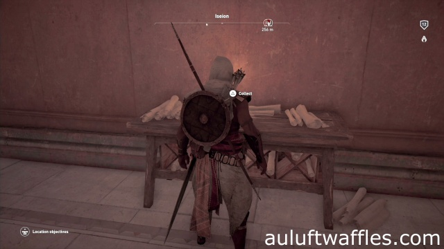 Find the Papyrus Puzzle Iseion Alexandria Assassin's Creed: Origins