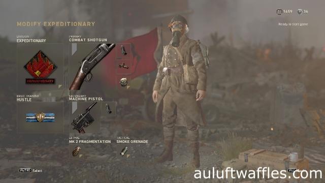 Combat Shotgun Soldier Best Class Setup Call of Duty: WW2 Weapon Guide