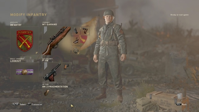 M1 Garand Soldier Best Class Setup Call of Duty: WW2