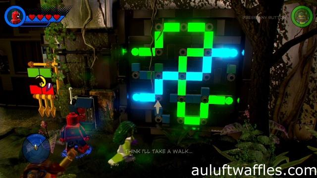 Open Door in Wakanda Level 4 LEGO Marvel Super Heroes 2