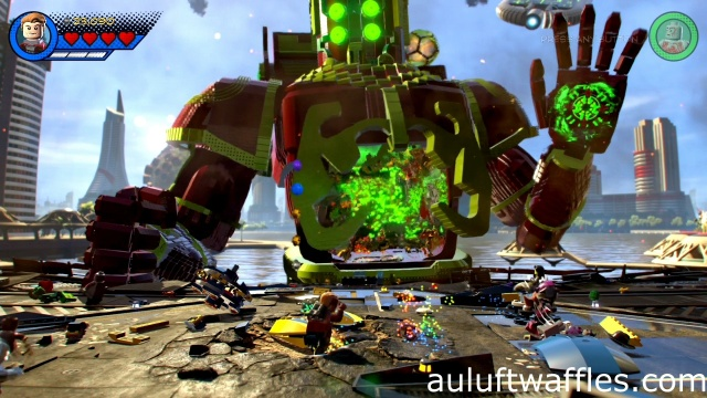 Defeat Celestial level 1 LEGO Marvel Super Heroes 2