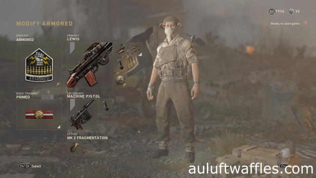 Lewis LMG Soldier Best Class Setup Call of Duty: WW2 Weapon Guide